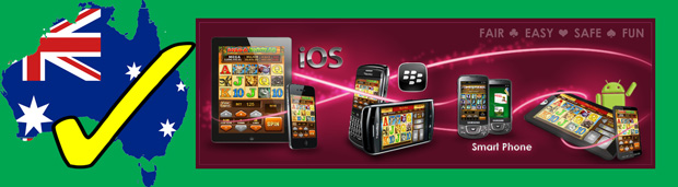 Mobile pokies at Ruby Fortune